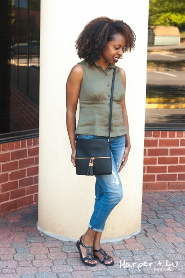 FB - Itch to Stitch Chai - Olive Stretch Linen-1901