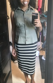 Paired with the Love Notions Sybil Skirt (pencil version)