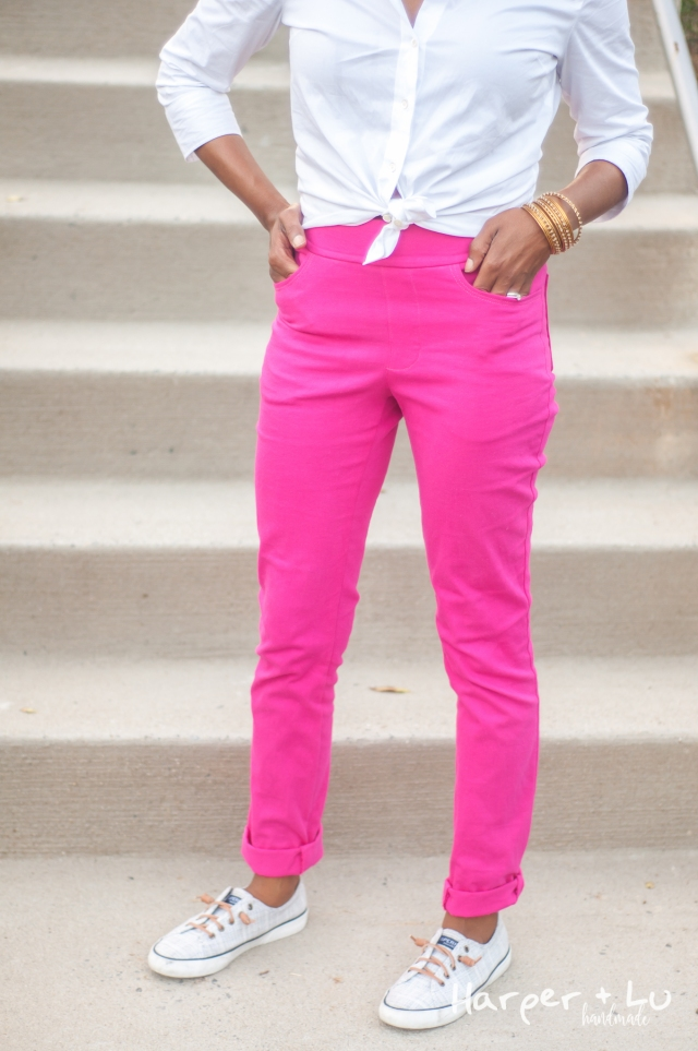 Blog - Jalie Eleonores - Pink Stretch Twill-2631