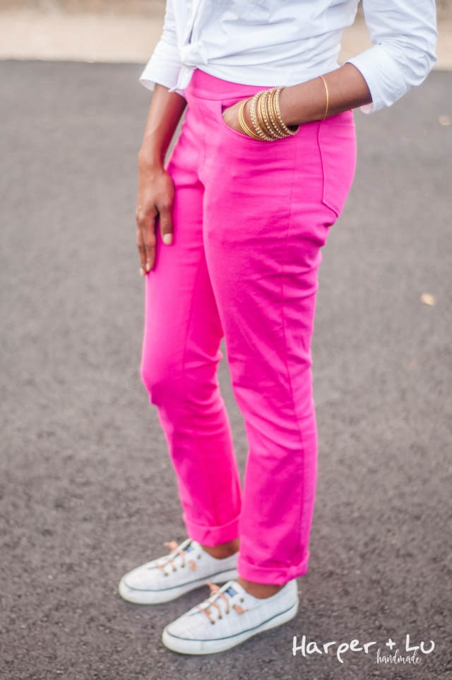 Blog - Jalie Eleonores - Pink Stretch Twill-2660