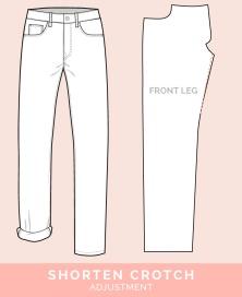 pants-fitting-adjustments-shorten-crotch-1