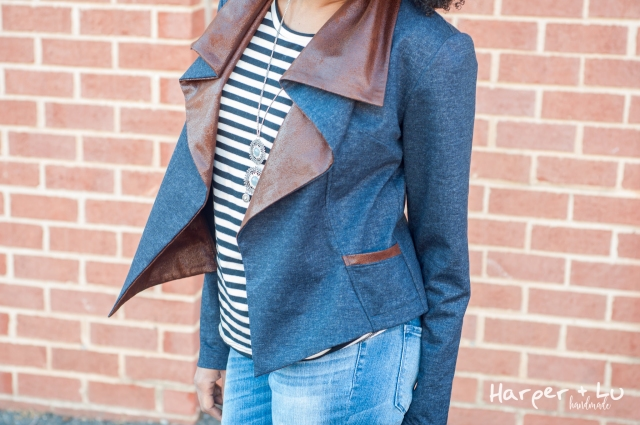 Blog - Itch to Stitch Love Blog Tour - HVAR with Ponte and Faux Leather-3146